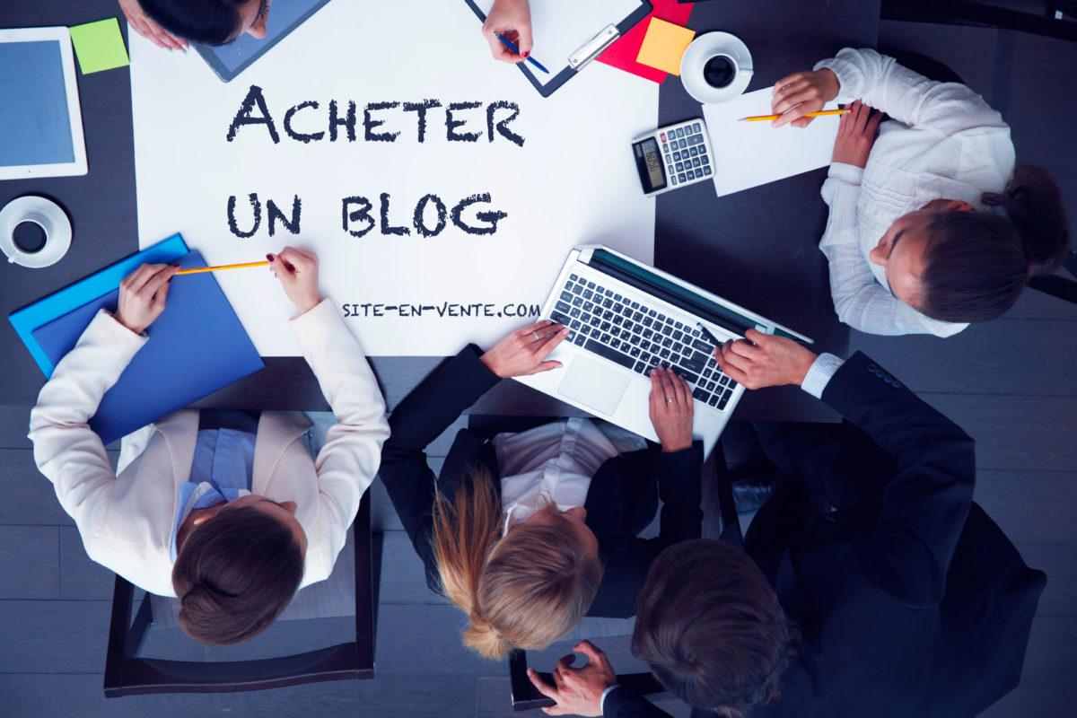 acheter un blog