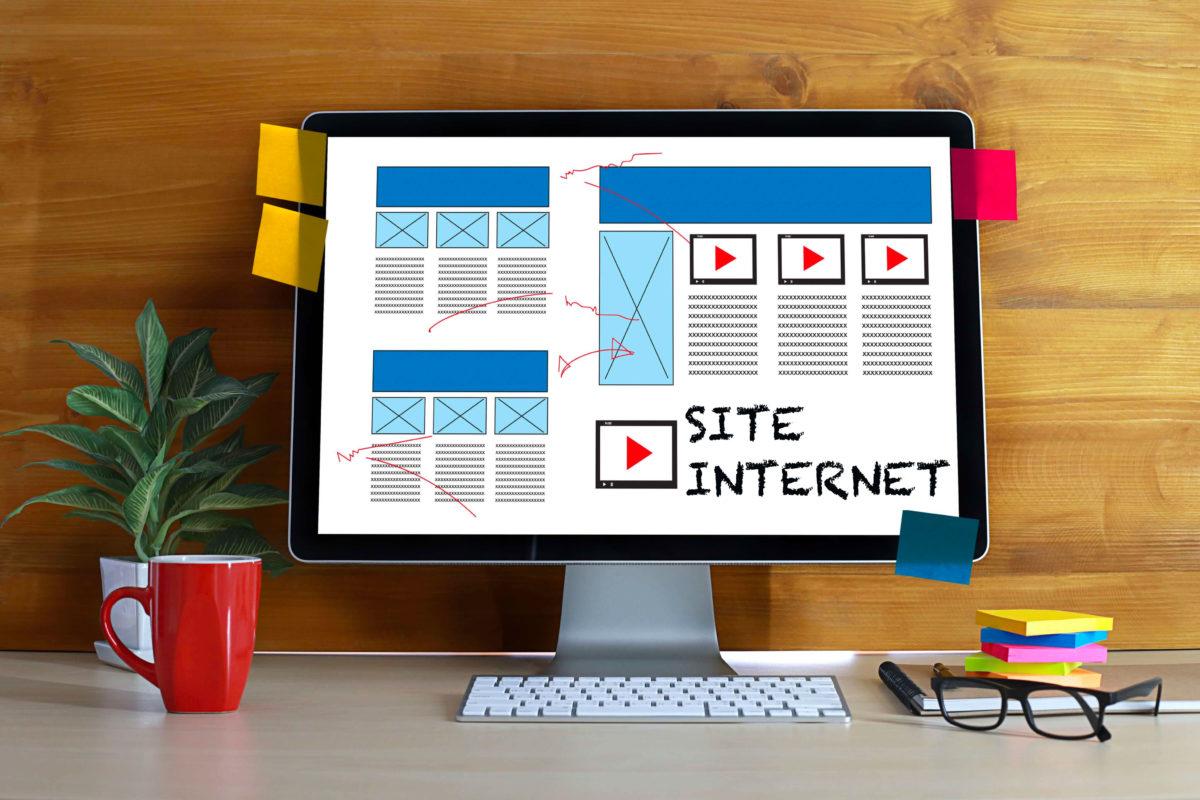 site internet experience client