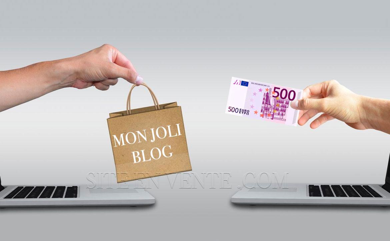 vendre son blog