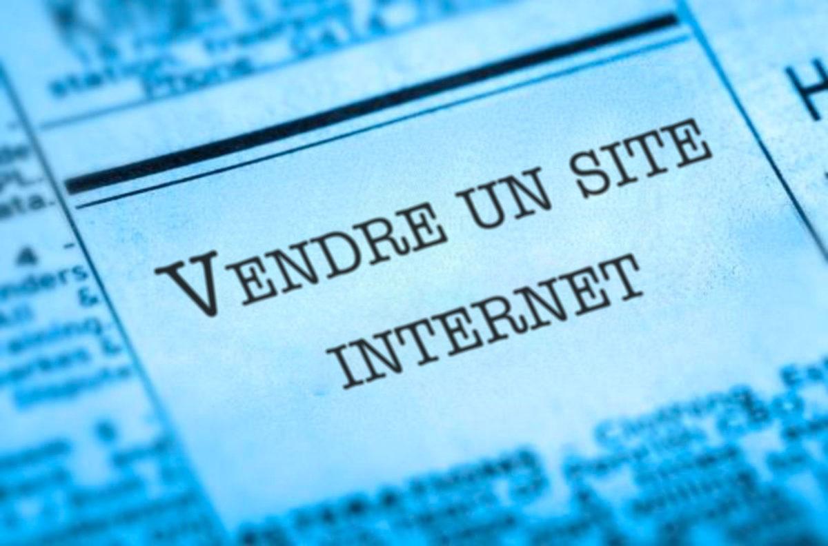 vendre site internet