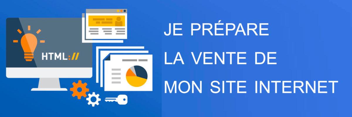 vente de site internet : la preparation