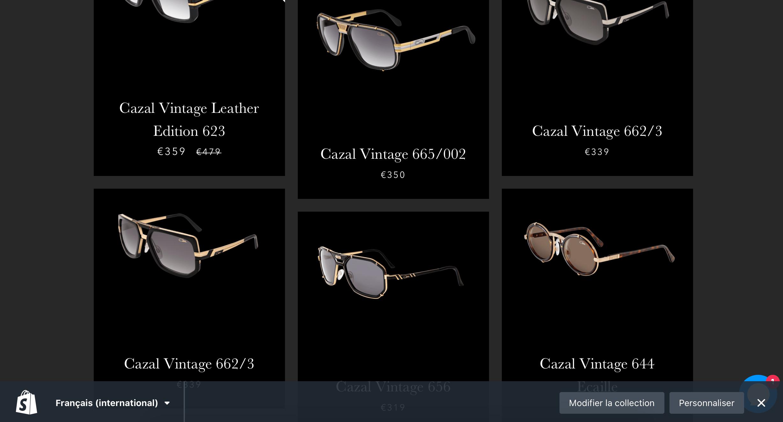 Page lunette de Luxe