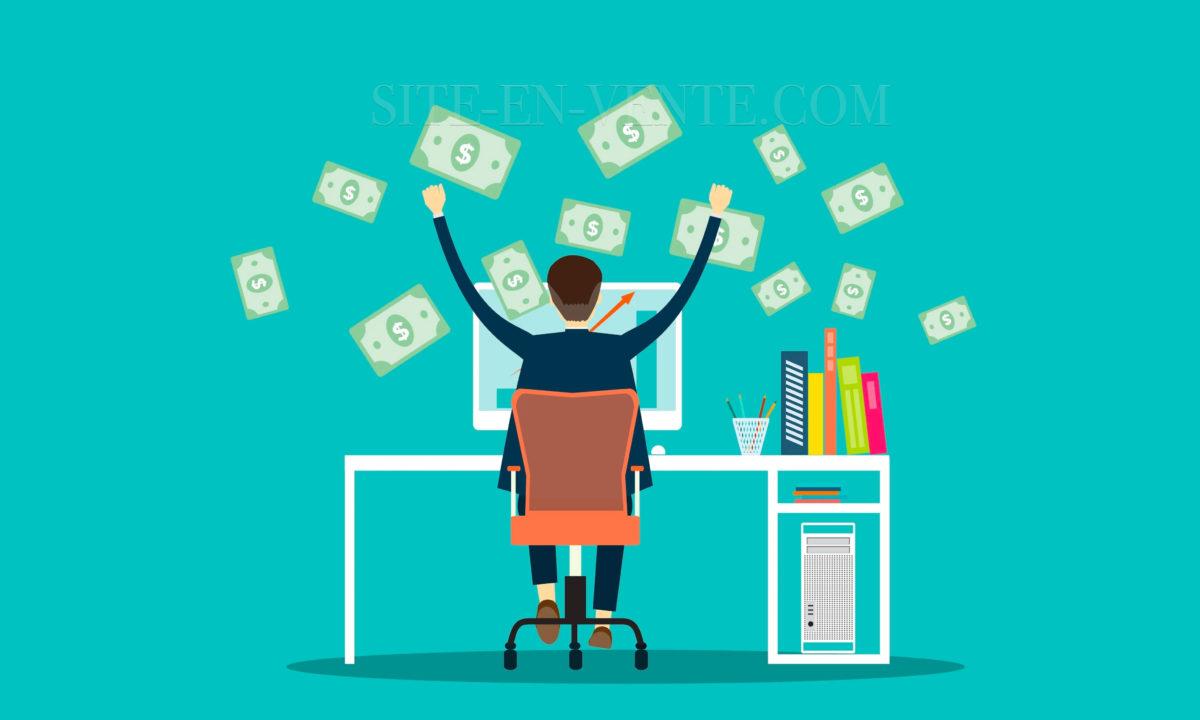 acheter site internet rentable
