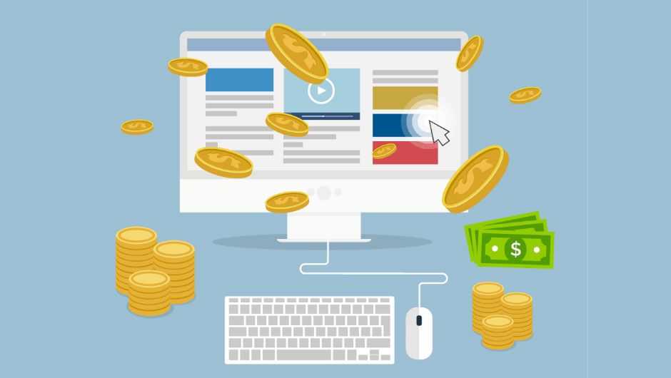 business model site internet