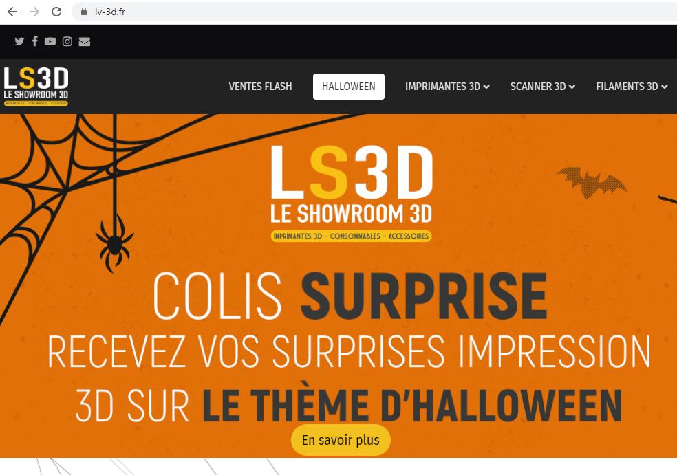 Page d'accueil lv-3d.fr
